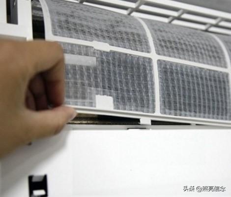 空调显示尘满后,过滤网清洗后仍然显示尘满,是什么原因?
