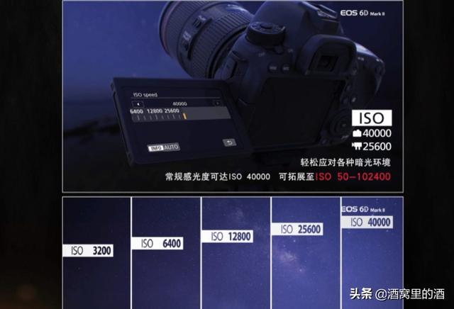 佳能6d最高可用感光度是多少?