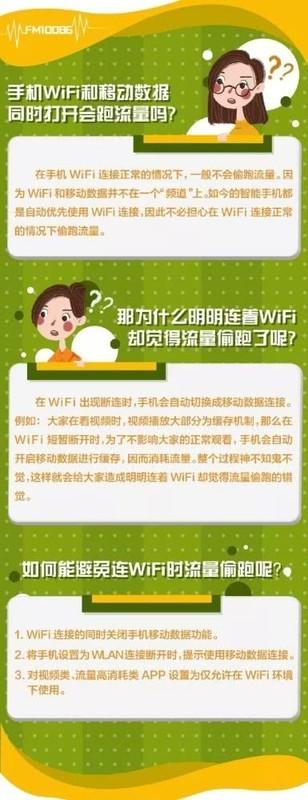 手机连Wifi也会偷跑流量?