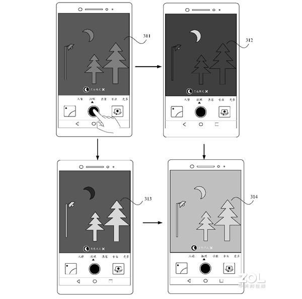 华为拍月亮方法已申请专利?