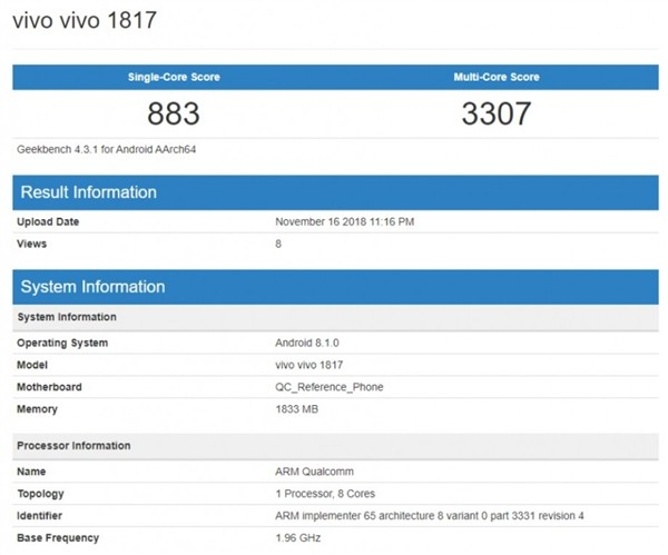 骁龙439是什么处理器?