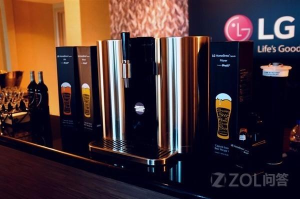 现在喝啤酒也有智能产品可以用了?