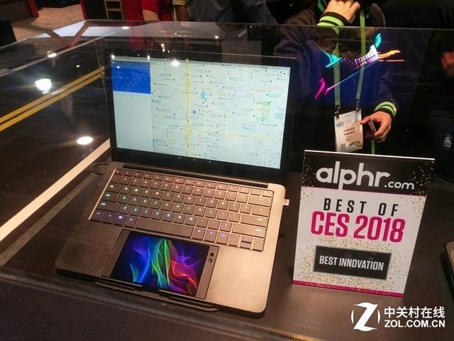 """雷蛇在CES 2018上推出了一个""""笔记本""""?"""