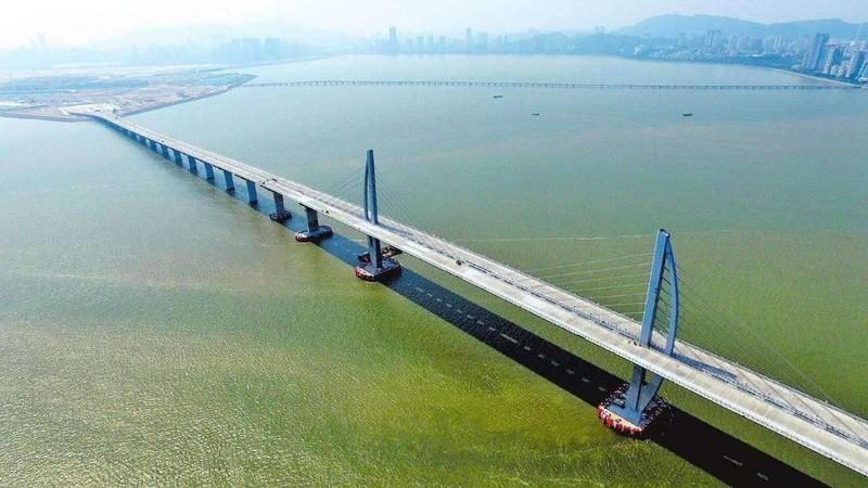 港珠澳大桥创造了哪些世界之最?