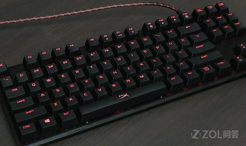 金士顿的HyperX键盘怎么样?