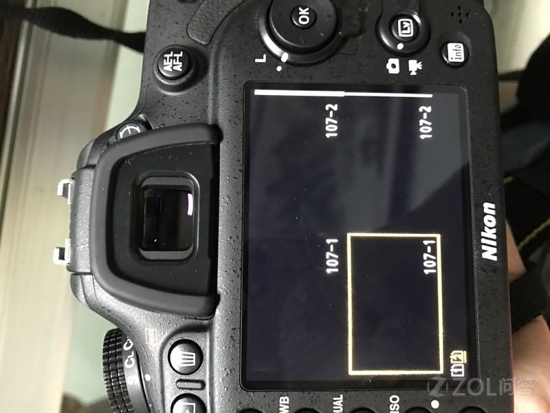 今天刚买了一台尼康D7200相机,满怀高兴的装好,搞好。结果...