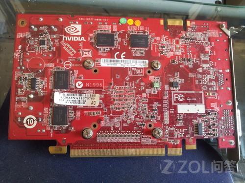 请教显卡型号  该卡有DP\\DVI两个接口,因为显示器没有dp接...