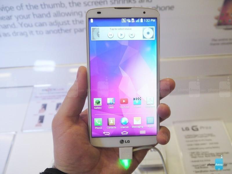 5.9英寸巨屏四核 LG G Pro 2抢先体验