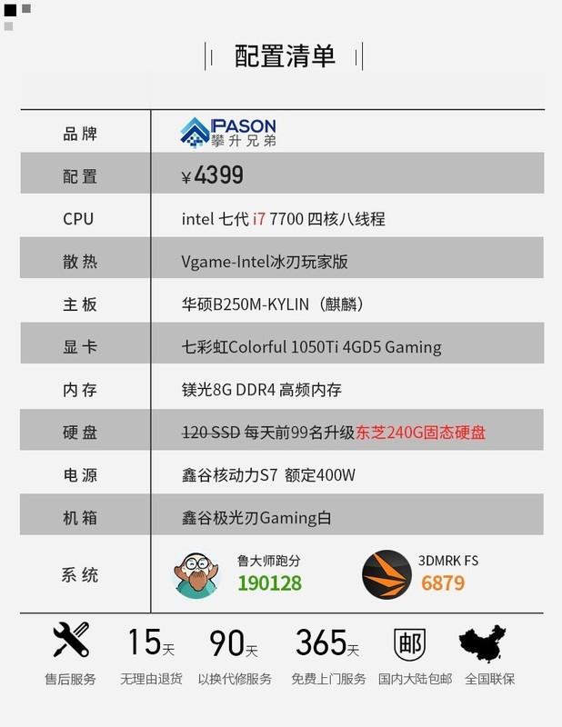 请大神配个价格在2000±300内浮动的游戏主机配置(先不考虑显卡,后装)但请给出显卡推荐,要CPU带集成显卡的