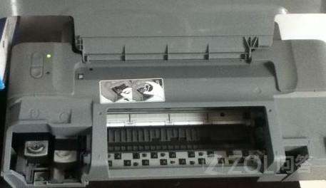 打印机如何连供墨盒