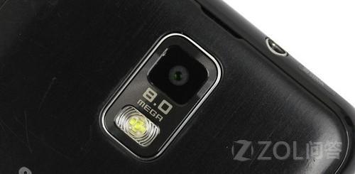 三星i929电信手机的摄像头传感器是什么类型的?