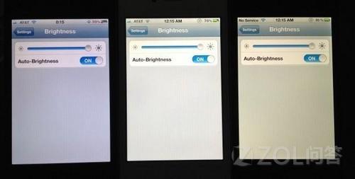 iphone5有冷暖屏这一说吗?