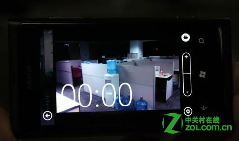 诺基亚800能不能触摸对焦?