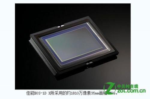 佳能相机用的什么感光元件?