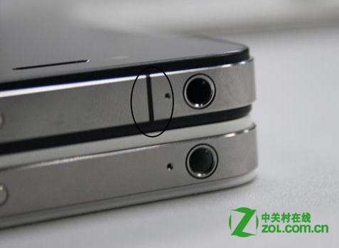 iphone4S和iphone4在外观有什么区别?