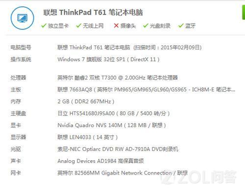 ThinkPad T61能换主板及所有零件吗?如果能换的话------ 想...