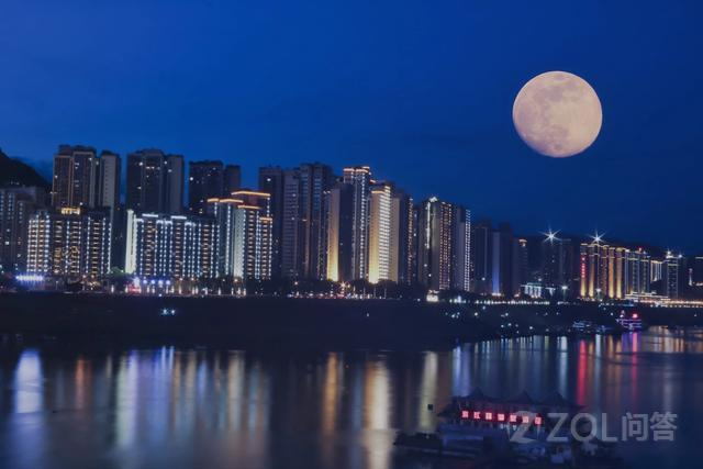 中秋怎么用手机拍月亮效果更好?