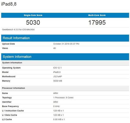 苹果A12X比标压i5还厉害?
