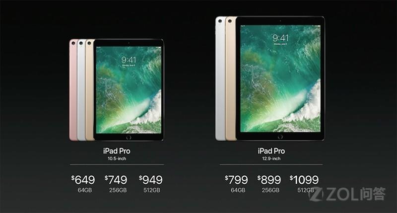 新款iPad Pro 该选10.5吋还是9.7吋?
