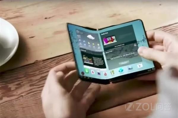 三星折叠屏幕手机将会卖到一万元以上?