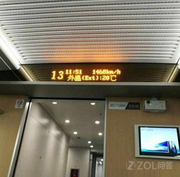 高铁上的电子显示屏为什么要显示速度?
