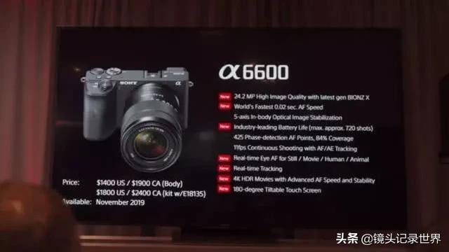 索尼a6600适合拍摄婚礼录像吗?