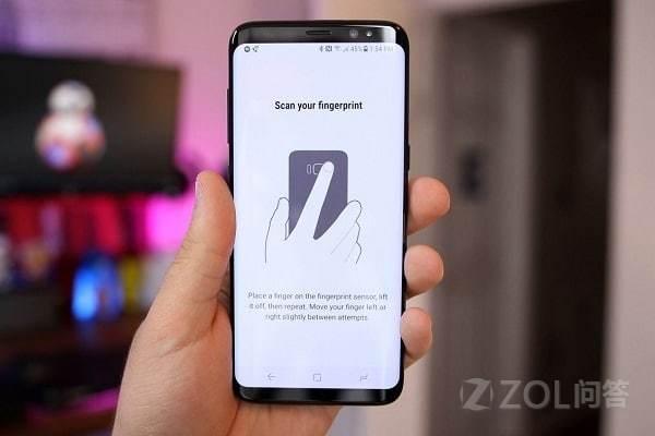 三星Galaxy note8会采用屏幕指纹解锁吗?