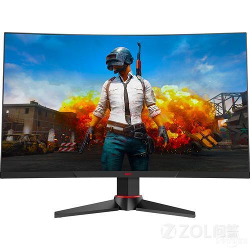 27英寸曲面显示器适合玩游戏么?