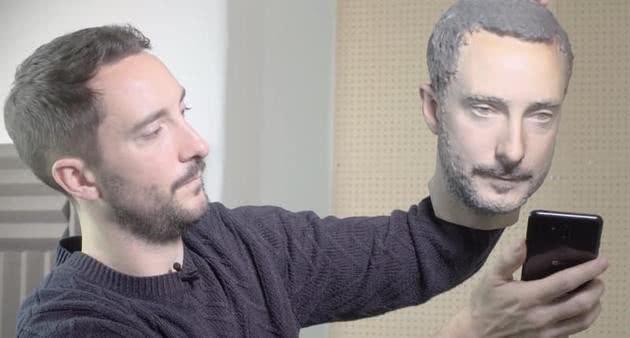 3D打印的头像可以破解人脸识别么?