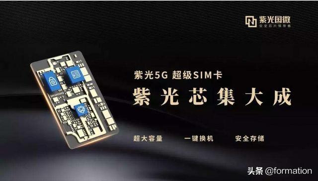 """开启5G""""大""""时代!紫光携手电信发布5G超级SIM卡,安全性能强,你怎么看?"""