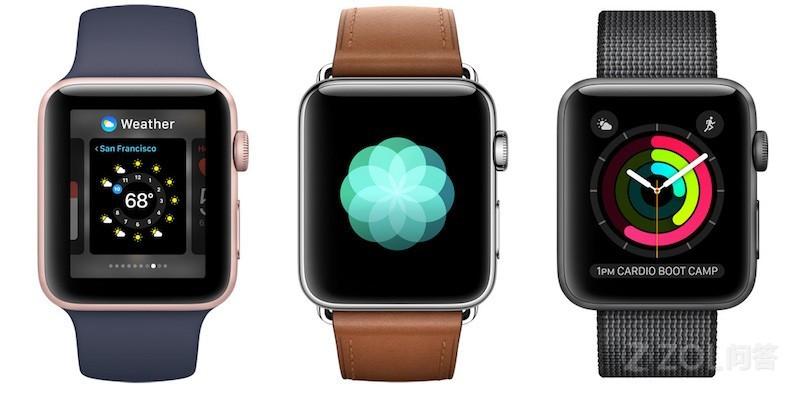 Apple watch有几个版本?差距大吗?