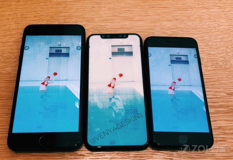 iPhone8真的会用全面屏么?