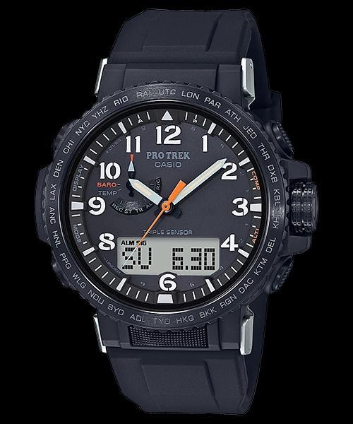 都说Casio家的手表功能多,说PRW-50Y-1A有三重感应器,主要作用是什么呢?
