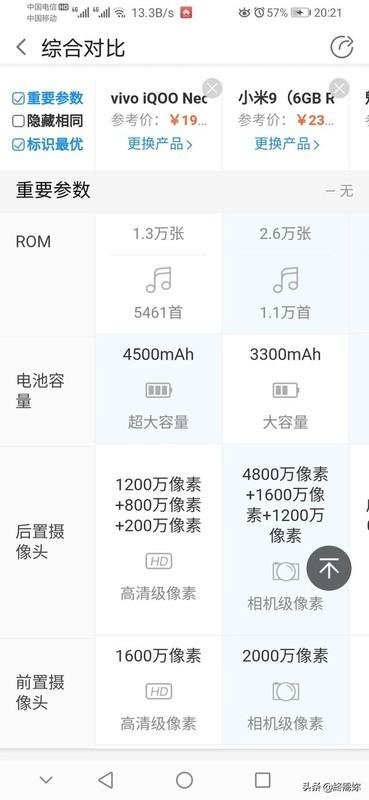 小米9,IQOO,魅族16T哪个性价比高些,都有哪些优缺点?