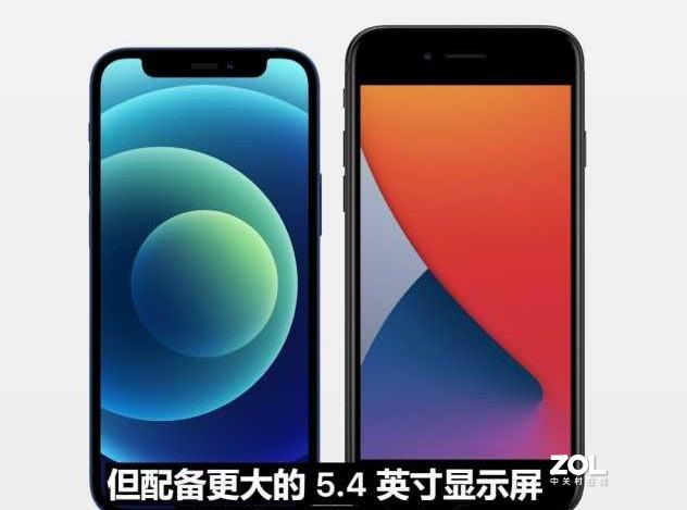 iPhone 12 mini ,和标准版有何差别?